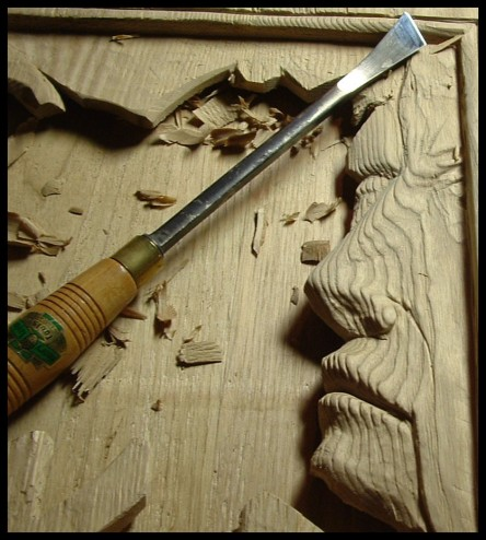 wood carving book